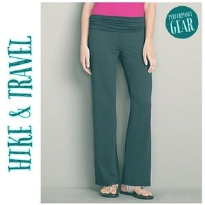 EDDIE BAUER Aster Fold-over Yoga Pants 2XL Tall